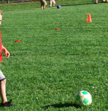 O melhor da prática do futebol infantil