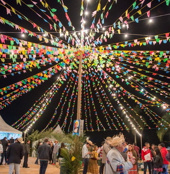 Festa Julina anima o final de semana na Riviera de Santa Cristina