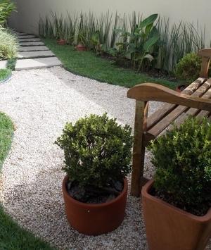 Solo revestido para o seu jardim