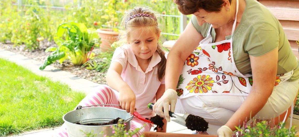 Educação ambiental para as crianças