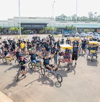 2º Passeio Ciclístico supera expectativas e movimenta o Santa Bárbara