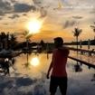 Procure um defeito no pôr do sol na Riviera III e falhe miseravelmente 😌 📸: @dorigorodrigo