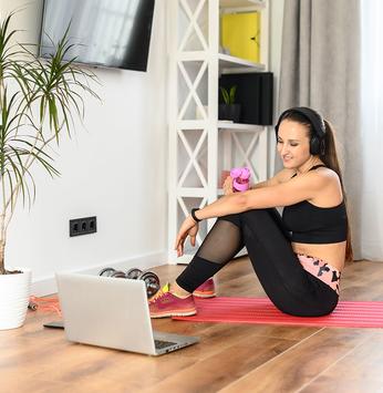 Vídeos com exercícios físicos são opção para associados SLIM dos Ninhos I e II