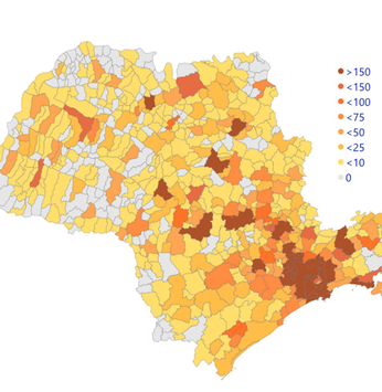 A maioria das cidades pequenas do interior registra poucos casos de coronavírus